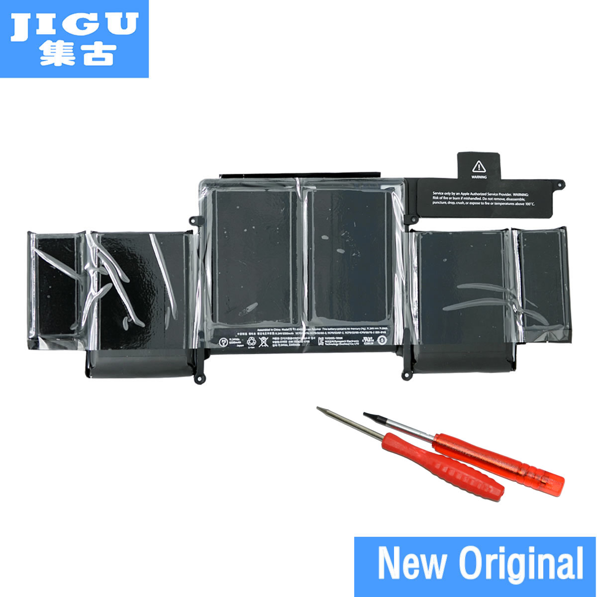 JIGU A1493 Için Orijinal Laptop Batarya APPLE Macbook Pro Retina 13 A1502 2013 ME864 ME865 11.34 V 71.8WH