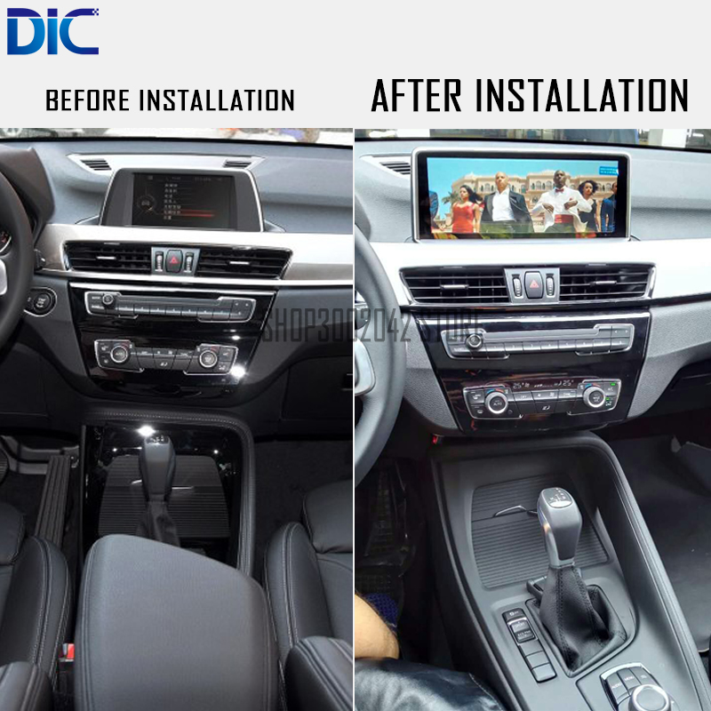 Android İşlevli sistemi video medya navigasyon player araba styling dual sistem 10.25 BMW X1 E84 -2018 Için GPS