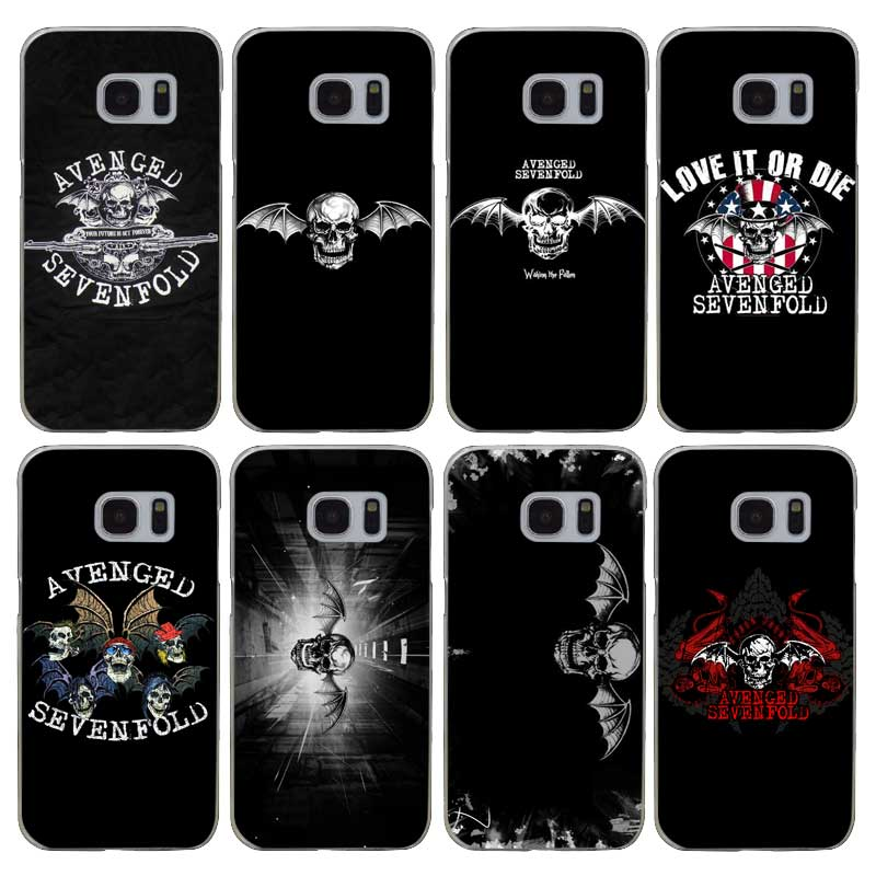 H033 Avenged Sevenfold Şeffaf Sert PC Case Kapak Için Samsung Galaxy S 3 4 5 6 7 8 Mini Kenar Artı Not 3 4 5 8