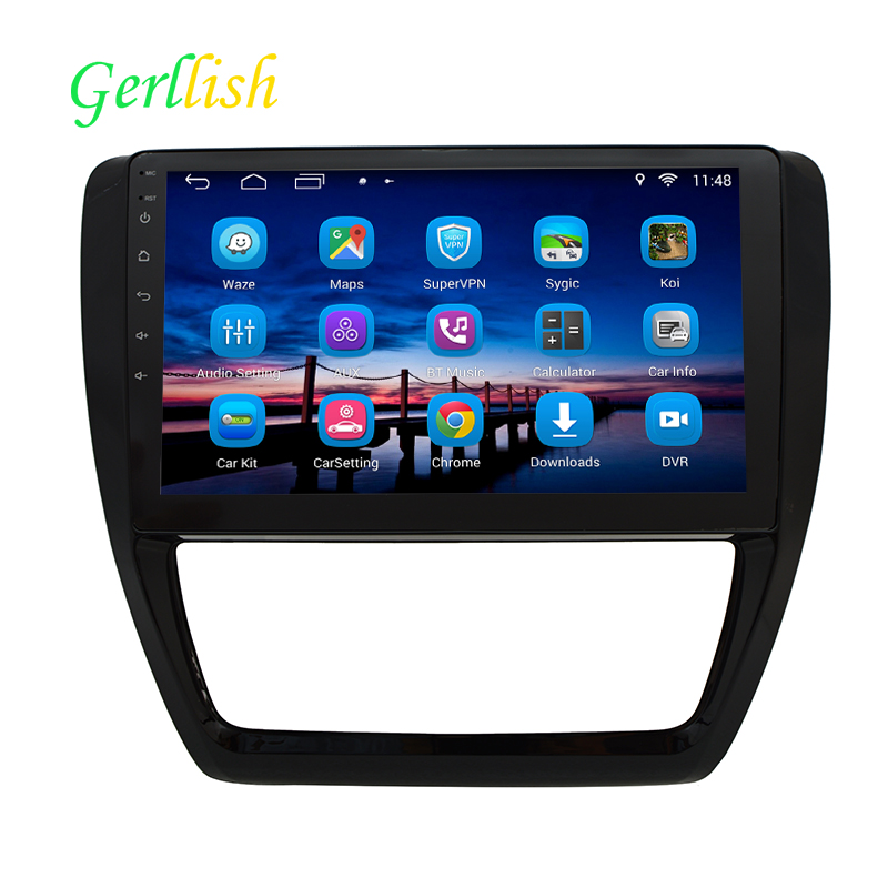 10.1 inç 1024*600 1 GB RAM Quad Core Android 6.1 VW SAGITAR için Araba Radyo GPS 2012 2013 2014 ile Bluetooth/wifi